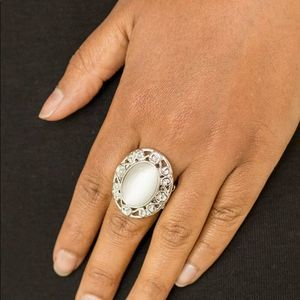 Free with Bundle Moonlit Marigold Ring White